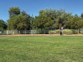 Chino Hills Community Center grounds
