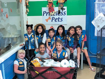 Chino Hills Daisies from Girl Scout Troop 70354