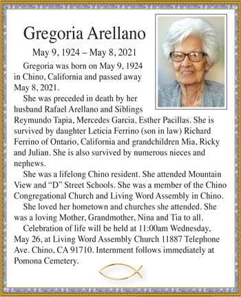 Gregoria Arellano