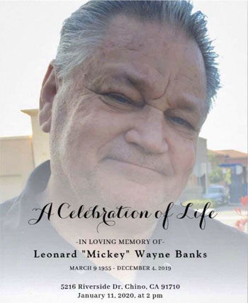 "Leonard ""Mickey"" W. Banks"