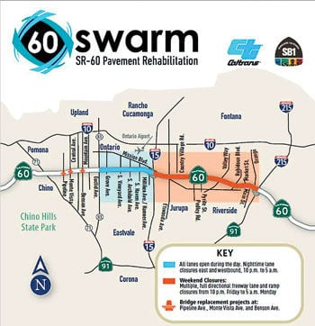 Major 60 Freeway projects begin this month | News
