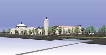 Holy Transfiguration Church rendering