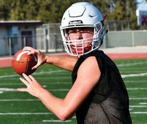 Ayala High quarterback Cole McCain