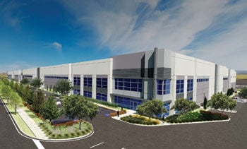 325,000-square-foot warehouse rendering