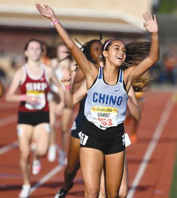 Chino High School's Mia Chavez