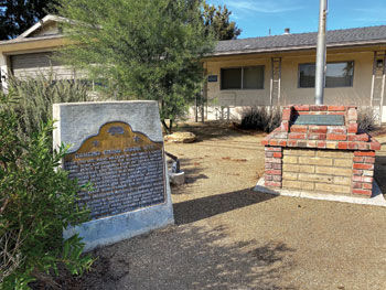 Battle of Chino historical marker