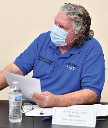 Chino Valley Fire District board member Winn Williams