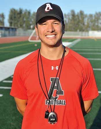 Ayala High first-year coach A.J. Gracia