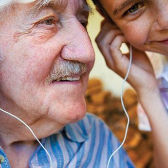 Grandchildren can help grandparents feel younger