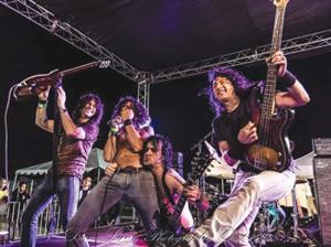 "AC/DC tribute band ""Bonfire"""