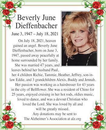 Beverly June Dieffenbacher