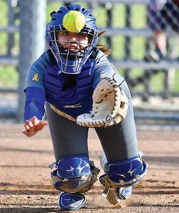 Chino High girls' softball player Emily Jordan