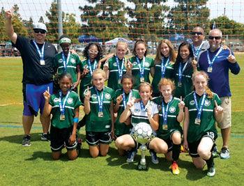 Chino Hills girls U14 Fury All-Star soccer team 2dff9fe7ec