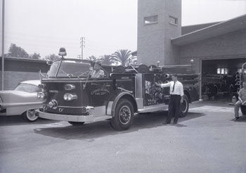 Station 61 in the 1960s