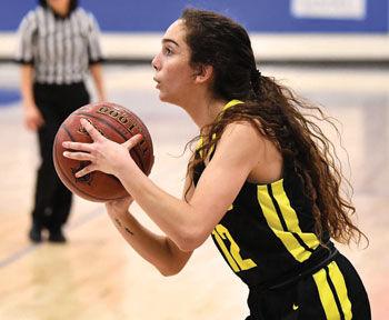 Girls' basketball player Krystle Medrano