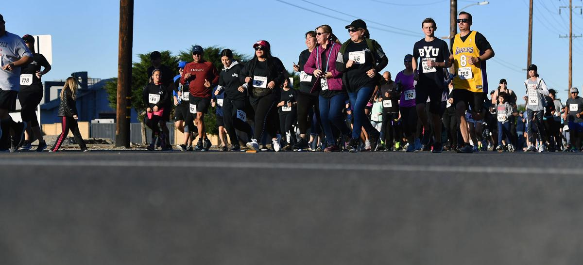 """Hundreds take part in 19th annual """"Run for Russ"""" 5K in Chino Feb. 1, 2020"""