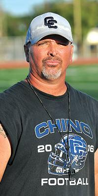 Head coach Damien Staricka