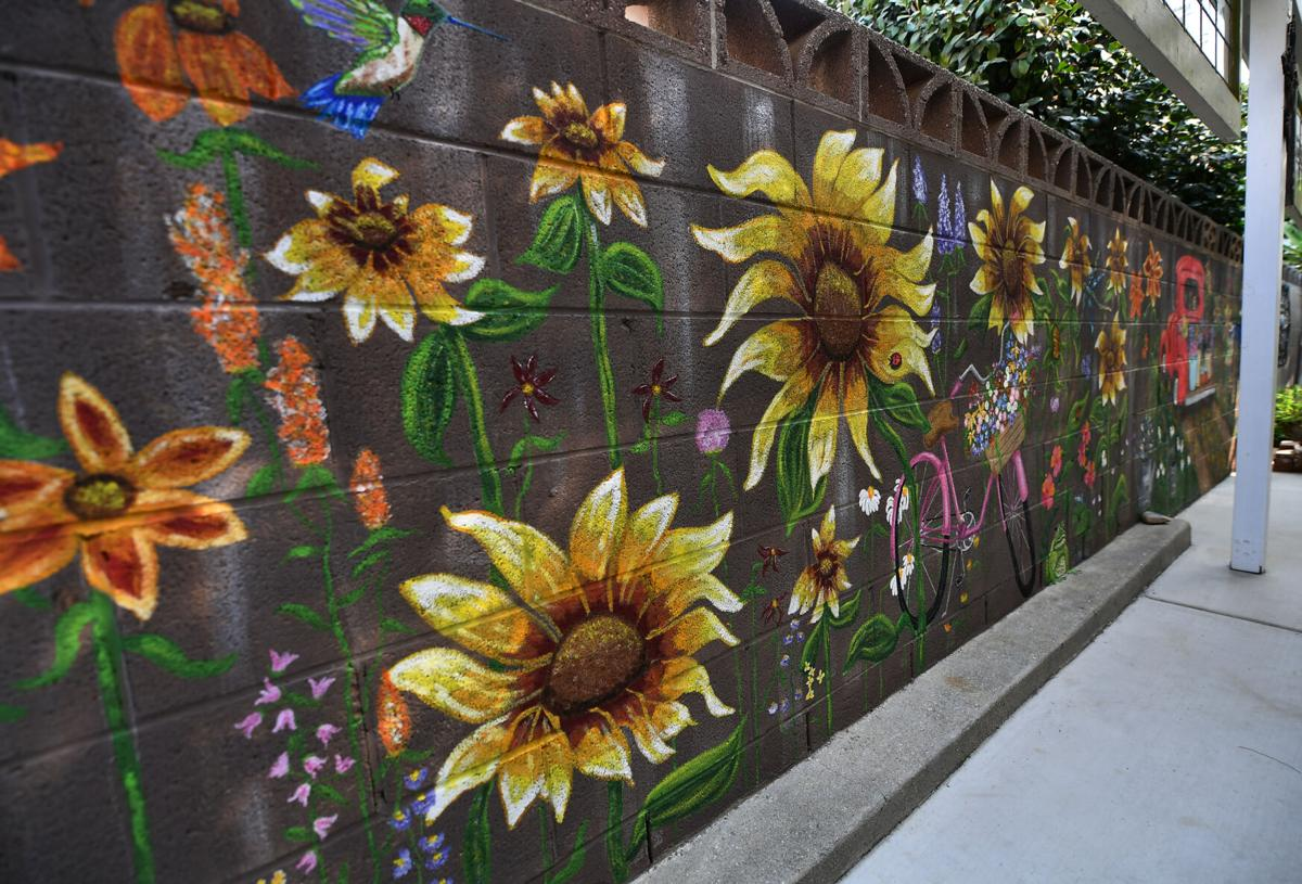 Chino resident paints backyard mural called 'COVID Project'
