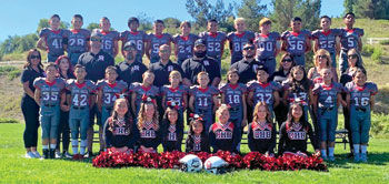 Chino Hills Junior All-American Football's Micro 2 Division team