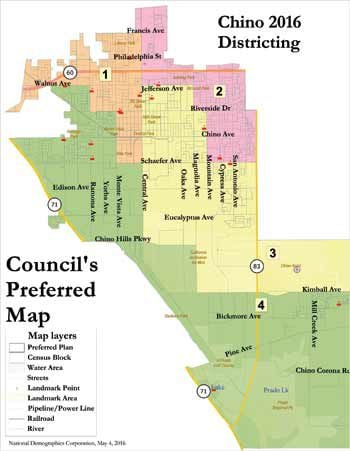 Council endorses zone map for Chino Champion Newspapers News