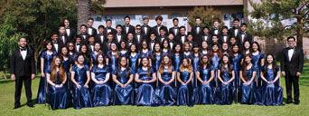 The San Gabriel Academy Chorale, Hand Bell Choir and Orchestra