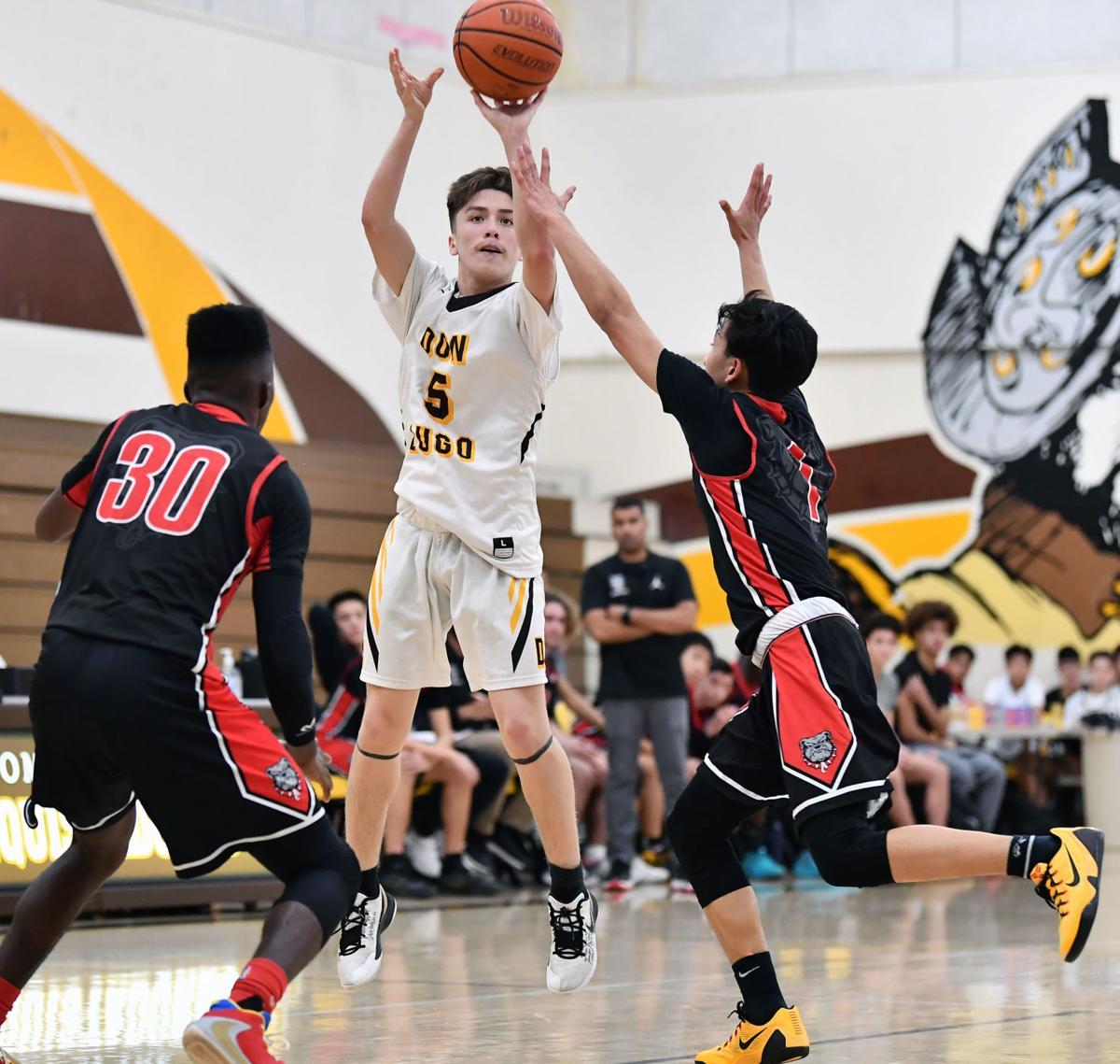 PHOTOS: Ayala 58, Don Lugo 51 Boys Basketball Jan. 4, 2020
