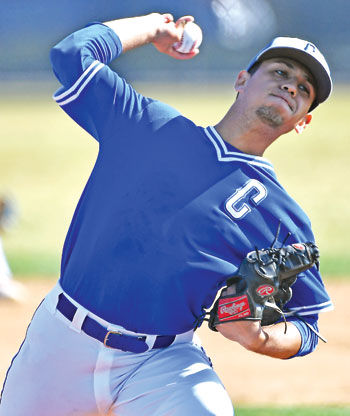 Chino High right-handed pitcher Ulises Perez