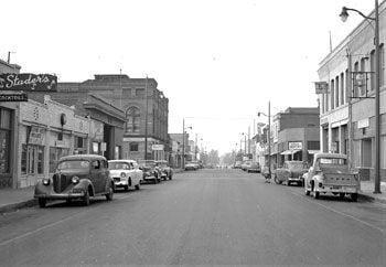 Downtown Chino 1955