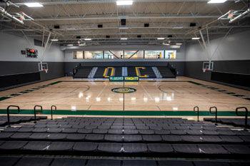 Inside Knights Center
