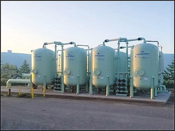Granulated activated carbon filtration system