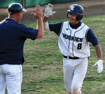 Chino Hills High sophomore Tyler Stull (#8)