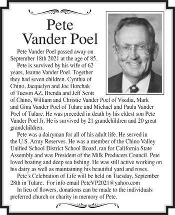 Pete Vander Poel