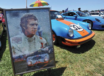 The Friends of Steve McQueen Car and Motorcycle Show