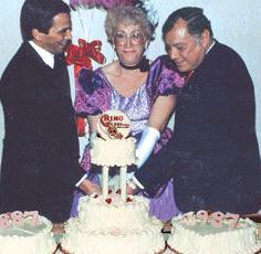 Carolyn Owens celebrates