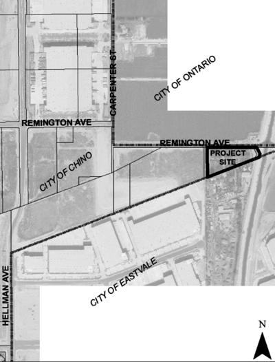 CITY OF CHINO - NOTICE OF PLANNING COMMISSION PUBLIC HEARING