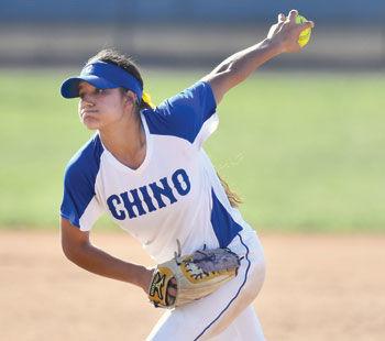 Chino High senior softball player Milaysia Ochoa