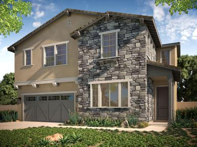 Model home at Vintage Grove in Chino