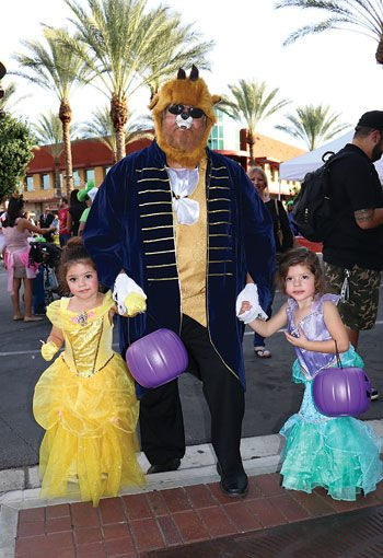City of Chino Hills' Trick or Treat event