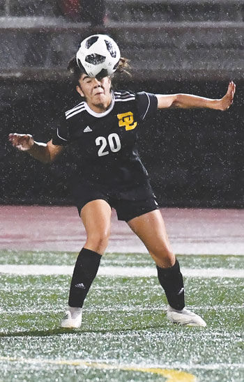 Don Lugo High girls' soccer player Krystal Tapia