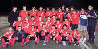 Ayala High boys soccer team