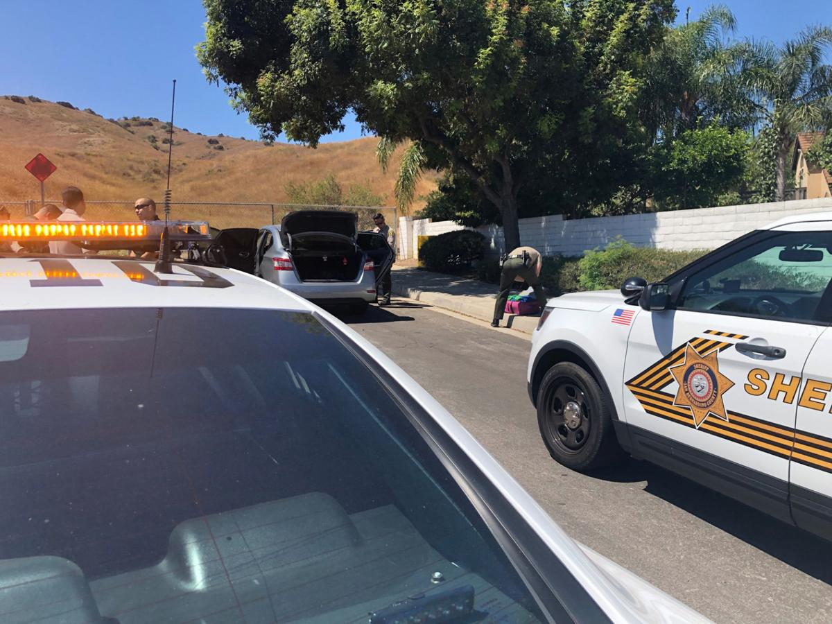 Pursuit suspect in stolen car arrested in Chino Hills
