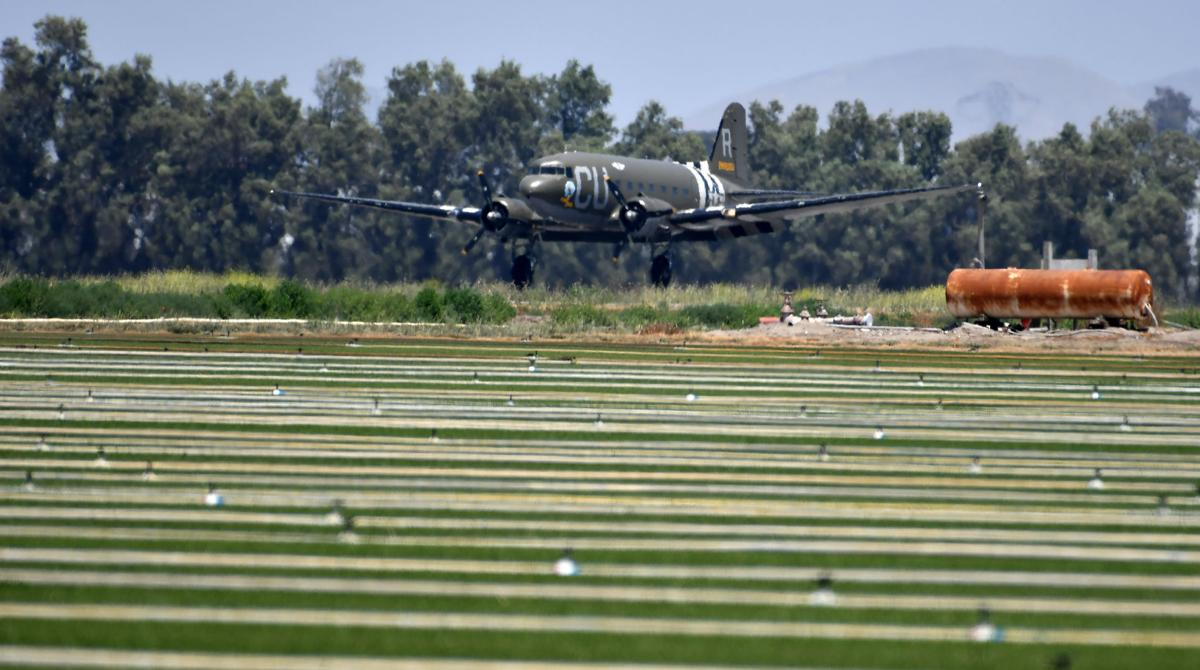 """""""Operation So Cal Strong"""" honoring veterans and frontline health care workers concludes at Chino Airport"""