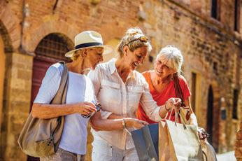 Seniors have the opportunity to travel