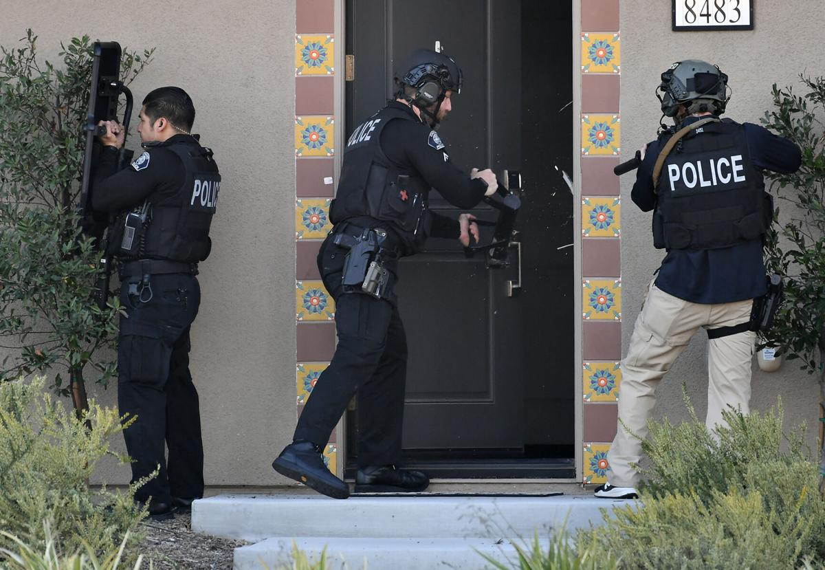 Man detained after gun fired inside Preserve-area home in Chino; no injuries reported