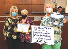 Mayor's Home Beautification Award