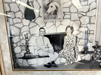 A young Frank and Helen McCoy