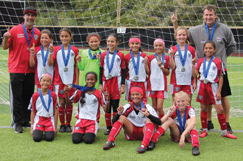 Chino United Girls U11 Extra soccer team