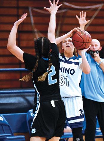 Chino High School's Lyndsey Valverde (#31)