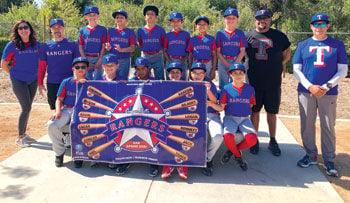 The Canyon Hills Triple A Texas Rangers