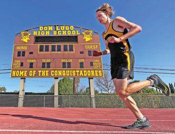 Don Lugo High sophomore Jordan Berkeley